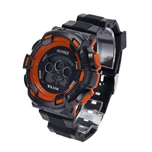 (VJGOAL Unisex Uhren, Damen und Herren Schwarz Cool Elektronische Uhr Armbanduhren Watch Sportuhr)