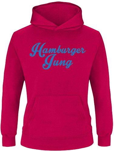 EZYshirt® Hamburger Jung Kinder Hoodie