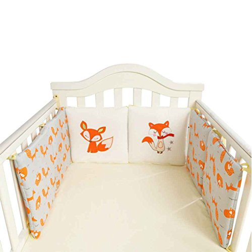 Bettwäsche-auto Baby-krippe (Mengonee 6Pcs / set Baby-Bett Auto Krippe-Karikatur Auto Newborn Bed Schutz Cradle Auto Kleinkind Kinderbett Bettwäsche-Set)