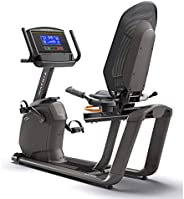 "Matrix Recumbent Bike R50xr with 8.5"" Extra-wide blu"