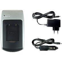 Caricabatteria NP-45 per FujiFilm FinePix XP50, Z10fd, Z20fd, Z30, Z31, Z33WP