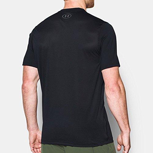 Under Armour Herren Ua Raid Graphic Ss Kurzarm T-Shirt Black, Graphite