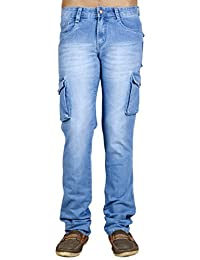 lubna möbel chowdhary tiled xuper stylz mens slim fit denim cargo jeans mens jeans buy online at best prices in