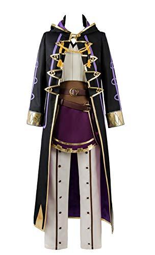 g Avatar Robin Reflet Daraen Cosplay Kostüm Schwarz Herren XS ()