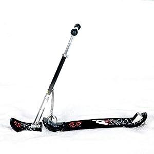 Gaozh Schlitten Verstärktes Eisen Rodel Für Kinderim Winter Skifahren