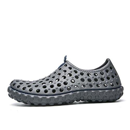 Hommes Chaussures de loisirs Respirant Des sandales Chaussures décontractées Été Grande taille Chaussures de plage gray