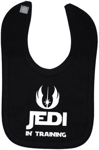 Jedi in Training Bavoir Velcro attacher Star Wars-Noir