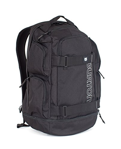 Burton Unisex Alltagsrucksack Distortion, True Black, 29 x 20.5 x 47 cm, 29 Liter, 15989100002