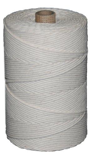 T.w. Evans Cordage 09–361 Number-36 poli Ficelle de coton de Boeuf avec 0,5 kilogram Tube, 950-feet
