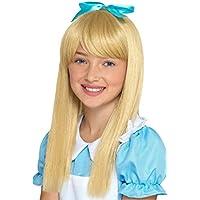 Smiffy s – Peluca 48841 Wonderland Princesa, Las niñas, ...
