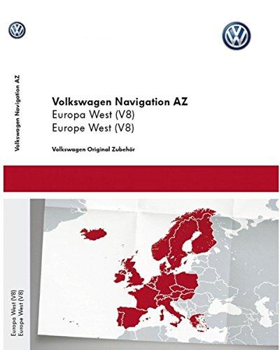 Preisvergleich Produktbild Volkswagen Original Software West Europa 2015 V8 für RNS 315 Navigationssystem …
