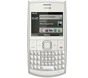 Nokia X2-01 Téléphone portable Quadri-bande GPRS EDGE Bluetooth Argent