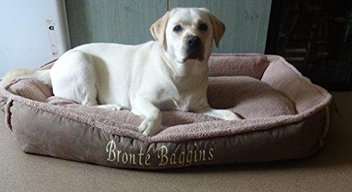 Luxury Fleece Cradle Dog Bed Size Extra Large XL 6