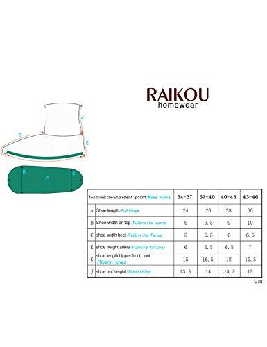 Raikou Micro Pile Corsetto Scarpe Con Abs E Suola Antiscivolo, Pantofole Super Soffici Per Signore E Signori Caffè