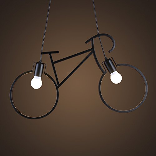 retro-kreative-stylische-fahrrad-bar-cafe-korridor-pendelleuchte