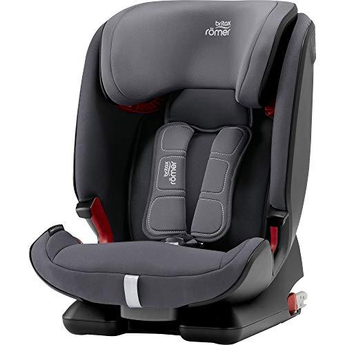 Britax Römer Kindersitz 9-36 kg, ADVANSAFIX IV M Autositz Isofix Gruppe 1/2/3, storm grey