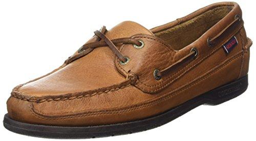 Sebago Schooner, Zapatos Hombre, Marrón Tan Tumbled