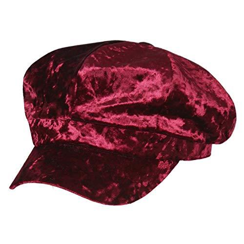 Annlaite Damen Frauen Mädchen Barette Barett Baske Mütze Baskenmütze Shirmmütze...