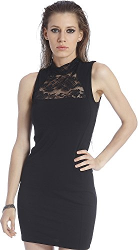 Only Women's Black Coloured Casual Bodycon Dress