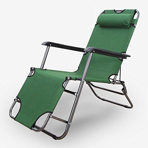 Deckchairs FEIFEI Home Klappstuhl Strandkorb Lazy Chair Zusammenklappbar (Farbe : B)