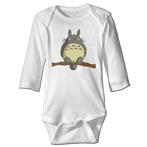 Mein Nachbar Totoro lustige Muster Print Bodys aus Bio-Baumwolle Baby Onesie Infant Boys Girls -