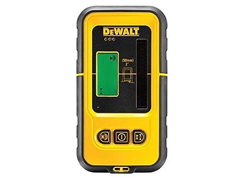 DEWALT Laser-Empfänger, 1 Stück, gelb / schwarz / grün, DE0892G-XJ