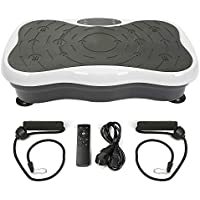 Flyelf Fitness Vibration Plate, For Office Body Shaper Slimming Fitness Basic Oscillating Fitness Equipment, Bluetooth Audio + USB+LCD Screen + Remote Control