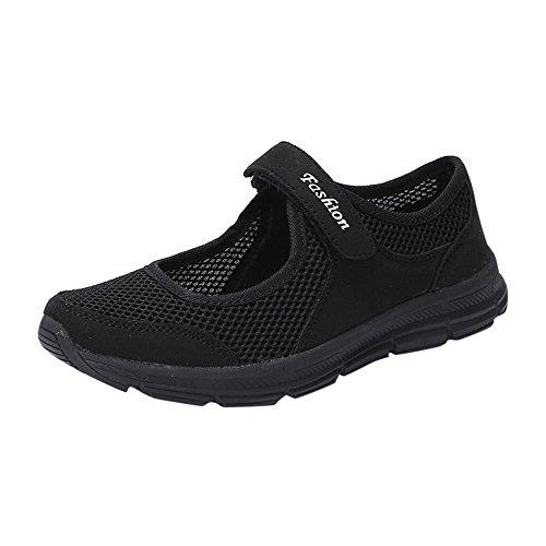 OYSOHE Mode Frauen Schuhe Sommer Sandalen Mesh Klettverschluss Anti Slip Fitness Laufschuhe Sportschuhe