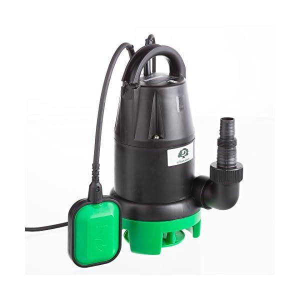 350 Watts Ultranatura Pompe /à eaux us/ées sp-100 De 5 m Pompe /à Moteur Submersible avec Interrupteur /à Flotteur d/ébit jusqu/à 7 000 l//h Hauteur manom/étrique Max