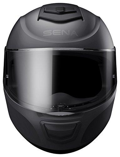 Momentum Lite, Bluetooth Helmet, Full Face, Matt Black, M size, ECE - 3
