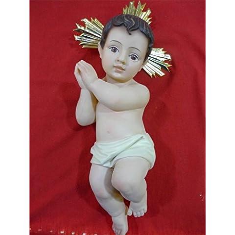 Amazing Baby Jesus figura bambola da terra Santa molto dettagliate & bella 14,6