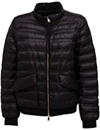MONCLER 7425V piumino donna VIOLETTE black jacket woman