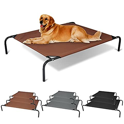 WOLTU® Lit surélevé pour chien chat de lit lit d'animal
