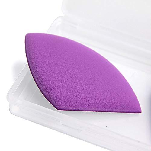 4 pièces/Set coussin d'air Puff Maquillage éponge Blender Foundation Puff pour BB Cream et fond de teint liquide (Violet)