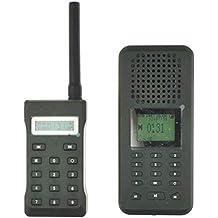 LikeBlue Llamador de aves de Reclamo electrónico para pájaros MP3 Reproductor 20W Altavoz Con pantalla LCD