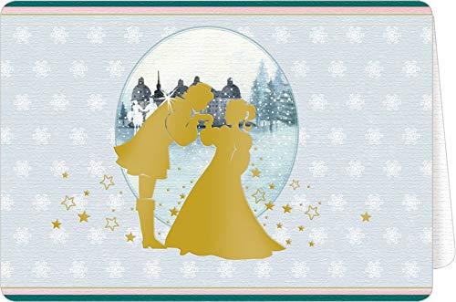 Weihnachtskarten mit Kuvert - Aschenbrödel - Wünsche für dich