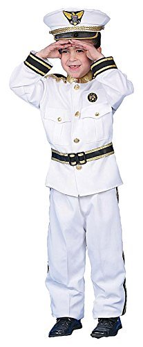 Dress up America Deluxe Navy Admiral Costume Set (L) by Dress Up ()