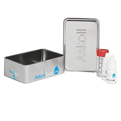 Askoll 200097 Test Kh pour la Mesure de la dureté carbonique dans Les Aquariums d'eau Douce et Marine