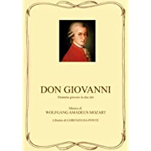 Don Giovanni - Libretto d'opera (Italian Edition)