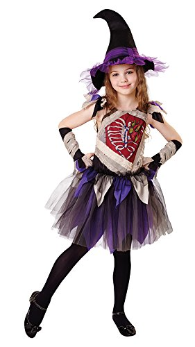 Kostüm Zombie Hexe - Bristol Novelty CF008 Zombie Hexe Kostüm