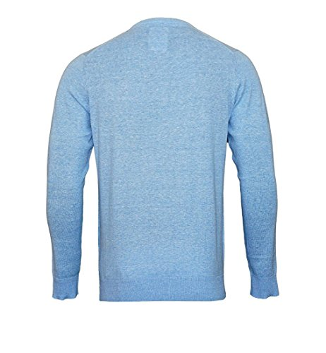 Daniel Hechter Herren Pullover Vneck light blue melang