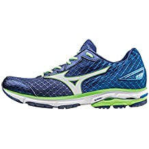 Mizuno - Wave Rider 19, color azul, talla UK-8.5