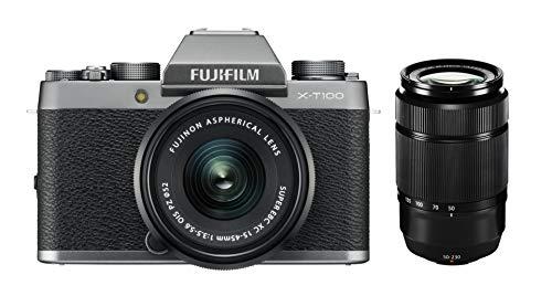 Fujifilm X-T100 Dark Silver + XC15-45mmPZ + XC 50-230mm II Noir