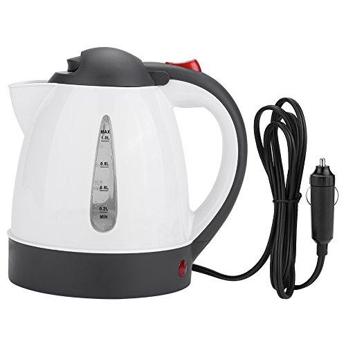 AUNMAS Tragbare Auto wasserkocher 1000 ml 24 v Reise Auto LKW wasserkocher Wasser heizflasche für Tee Kaffee Machen