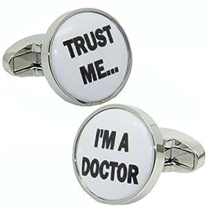 Trust Me I'm A Doctor Cufflinks | British Made | Cuffs & Co