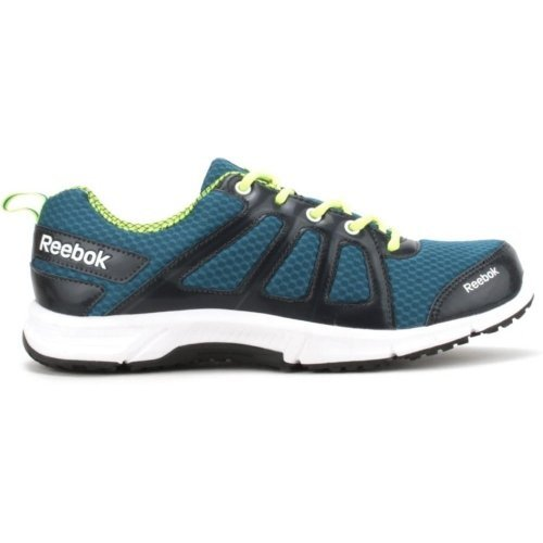 7. Reebok Men's Fast N Quick Blue, Yellow,White And Black Running Shoes - 7 UK