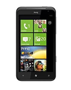 HTC Titan Smartphone (11,9 cm (4,7 Zoll) Touchscreen Display, 8 Megapixel Kamera, GSM, UMTS, HSDPA, WiFi, Windows Phone 7.5 OS) schwarz