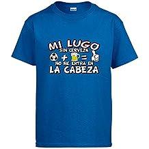Camiseta Mi Lugo sin Cerveza no me entra en la Cabeza