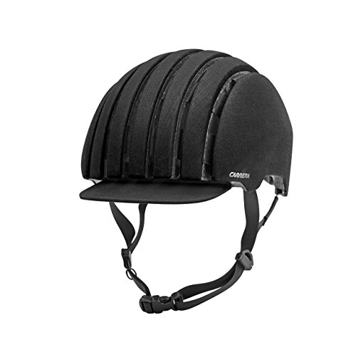 Carrera Fahrradhelm FOLDAB Crit WP, Black Waxed, 55, E0049791G5558