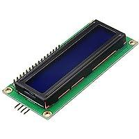 Plat Firm Geekcreit IIC / I2C 1602 Módulo de pantalla LCD con retroiluminación azul para Arduino